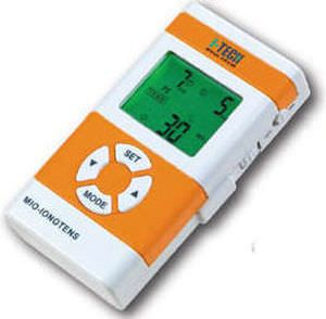Electro-stimulator (physiotherapy) / iontophoresis unit / hand-held / TENS MIO-IONOTENS - 20 PROGRAMS I.A.C.E.R. - I-TECH Medical Division