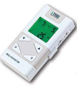 Iontophoresis unit (physiotherapy) / electro-stimulator / hand-held / EMS MIO-PERISTIM I.A.C.E.R. - I-TECH Medical Division