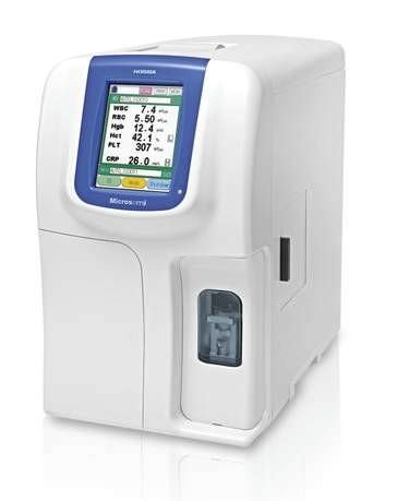 Automatic hematology analyzer / 19-parameter / compact / with CRP analyzer 15/55 tests/h | Microsemi CRP HORIBA Medical