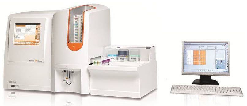 Automatic hematology analyzer / 32-parameter Pentra DF Nexus HORIBA Medical