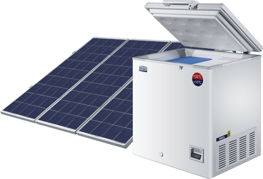Pharmacy refrigerator / chest / solar-powered / 1-door 2 °C ... 8 °C, 21 L | HTC-60 Haier Medical and Laboratory Products