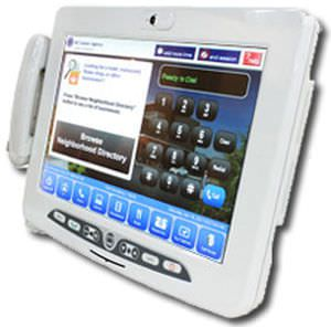 Medical tablet PC with barcode scanner / antibacterial 18"