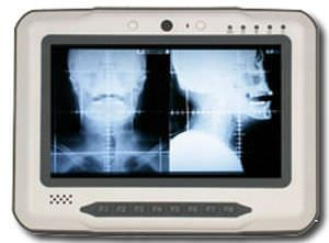 Fanless medical tablet PC Guardian™ Industrial Computing