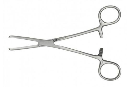 Clamp forceps 15 cm DTR Medical