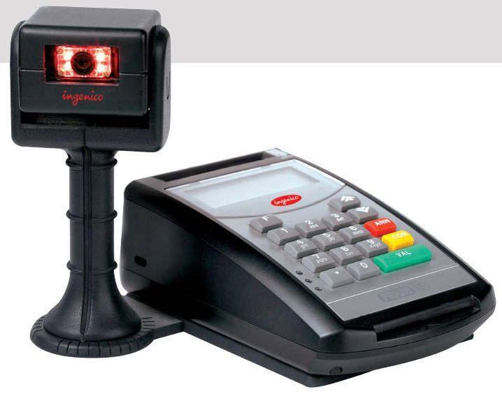 Insurance card reader health / USB 2D Ingenico