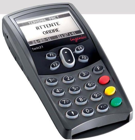 Insurance card reader health / USB Twin 31 Ingenico