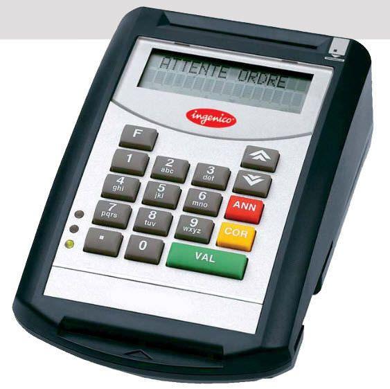 Insurance card reader health / USB PRIUM-3S Ingenico
