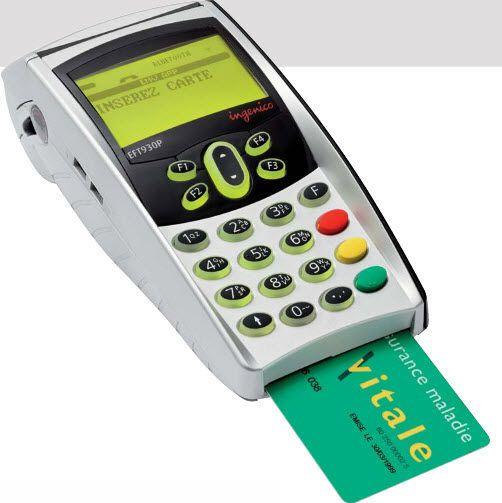 Insurance card reader health / mobile EFT930 Ingenico