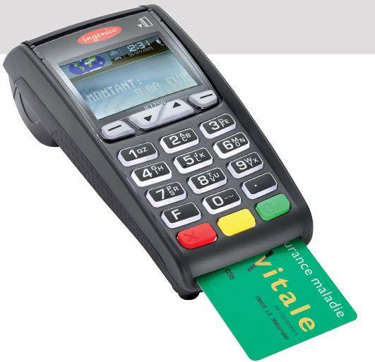 Insurance card reader health / mobile iCT250 Ingenico