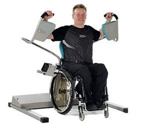 Weight training station (weight training) / butterfly / limited mobility users EA9160 HUR
