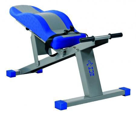 Abdominal crunch bench (weight training) / abdominal crunch / traditional / adjustable 1200 HUR