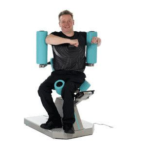 Weight training station (weight training) / rotary torso / limited mobility users EA9330 HUR