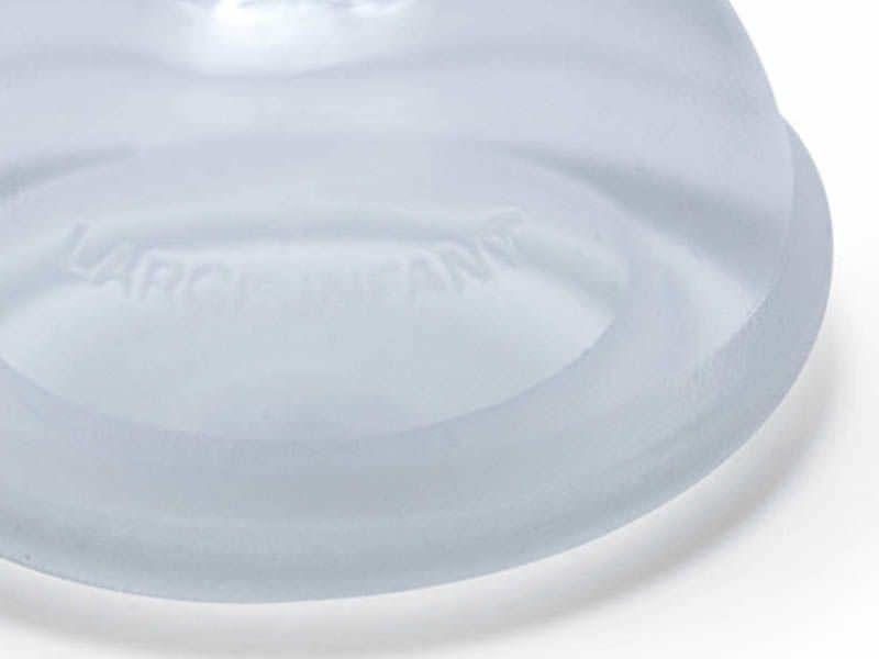 Anesthesia mask / facial / silicone / reusable 10111 Hsiner