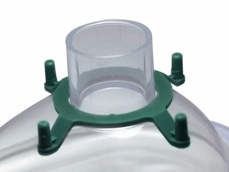 Anesthesia mask / facial / PVC / with valve 20143 Hsiner