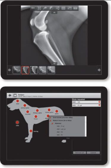 Veterinary iOS application / medical imaging IDEXX I-Vision Mobile™ Idexx Laboratories