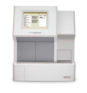 Automatic biochemistry analyzer / veterinary Catalyst Dx® Idexx Laboratories