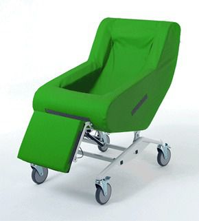 Medical sleeper chair / on casters / reclining / manual COSY CHAIR V101-4100C Horcher Medical Systems