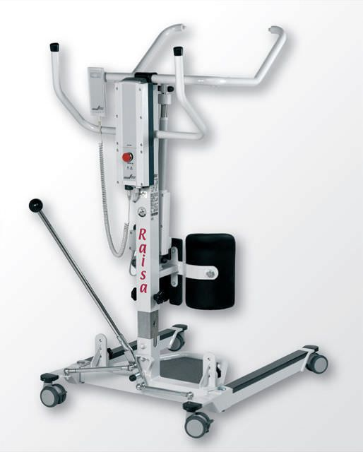 Electrical stander / walking / with harness RAISA HomeCare Horcher Medical Systems