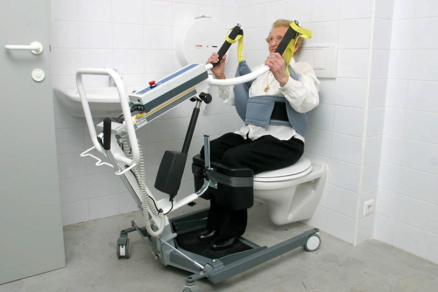 Electrical stander / walking / with harness 1620 Handi-Move