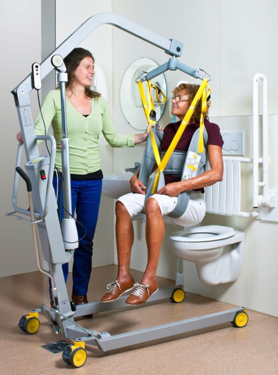 Mobile patient lift / electrical max. 200 kg | 1641 Handi-Move