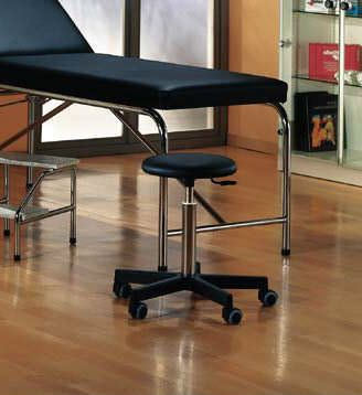 Medical stool / height-adjustable / on casters 01042 Haelvoet