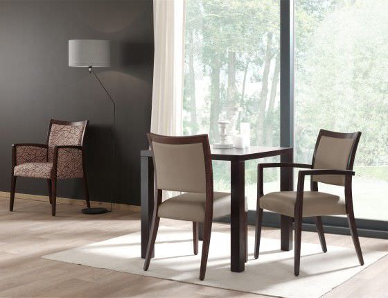 Chair with armrests Orchidea Haelvoet