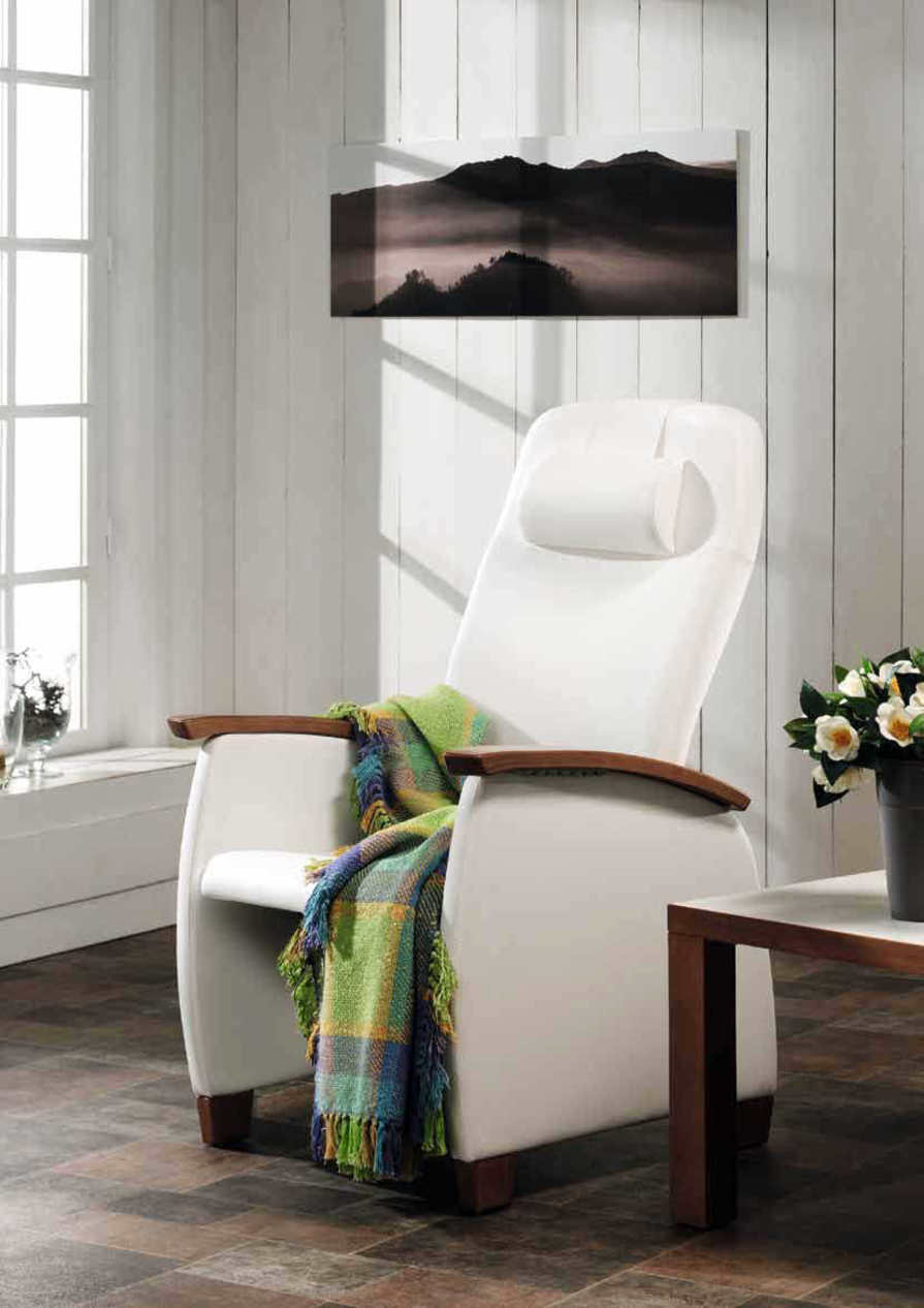 Reclining medical sleeper chair / manual Domus Classic Flex Haelvoet