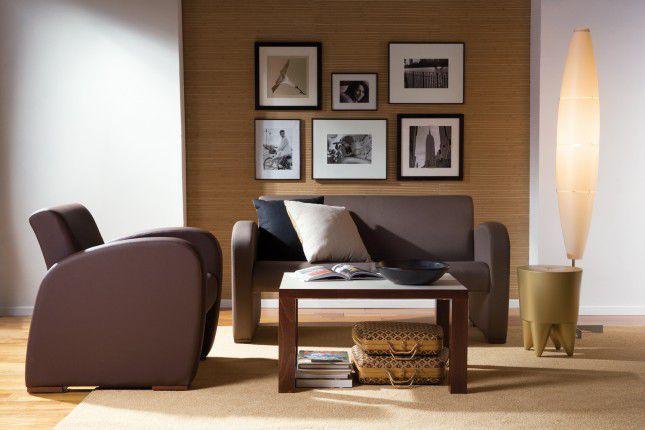 Healthcare facility sofa / 2 seater Domus Club-2 Soft Haelvoet