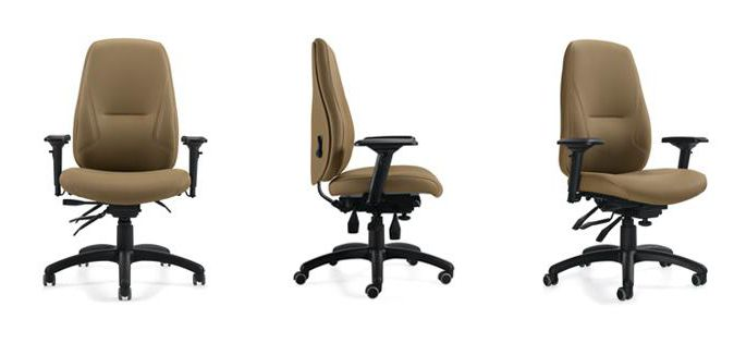 Office chair / with armrests / on casters Harmony Global Care