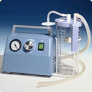 Electric mucus suction pump / handheld HICO-Permavac 785 Hico