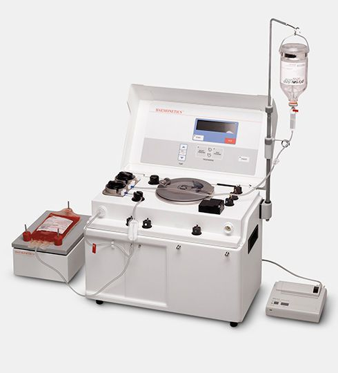 Blood cells automatic sample preparation system / compact ACP®215 HAEMONETICS