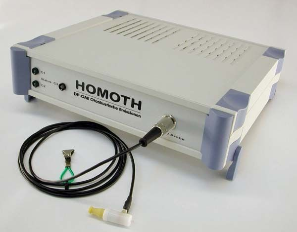 (audiometry) / otoacoustic emission measurement system / digital DP - OAE CLASSIC HOMOTH