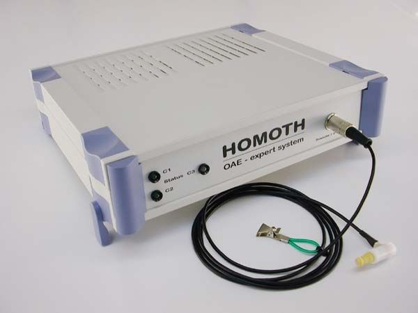 (audiometry) / otoacoustic emission measurement system / digital T - OAE CLASSIC HOMOTH