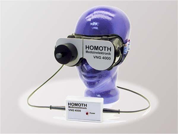 Monocular videonystagmoscope vestibular disorder testing system VNG 4000 HOMOTH