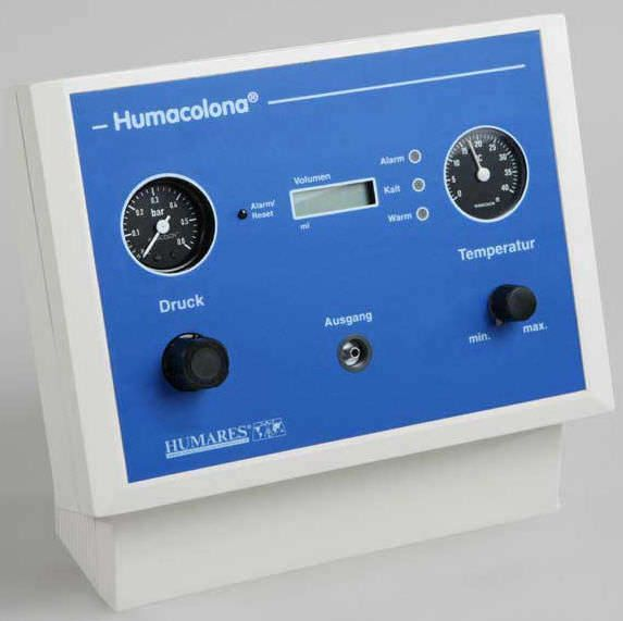 Colon hydrotherapy unit HUMACOLONA® Humares GmbH