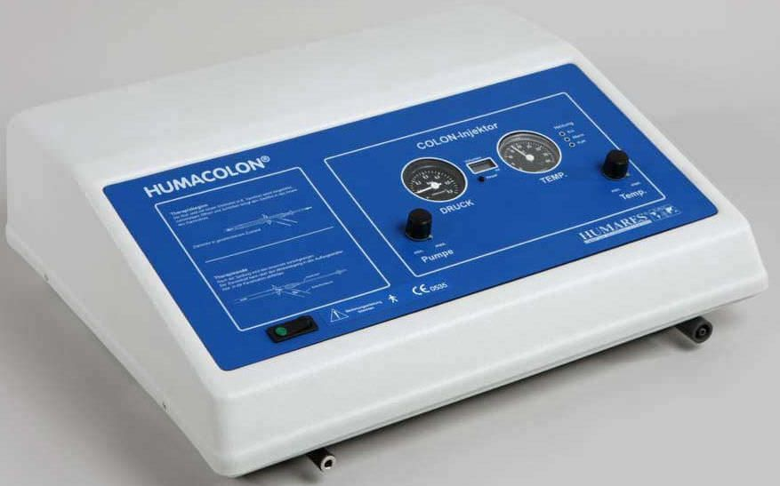 Colon hydrotherapy unit HUMACOLON® Humares GmbH
