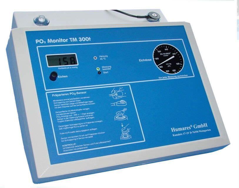 Oxygen pressure monitor TM 900 Humares GmbH
