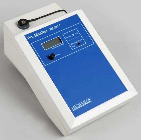 Oxygen pressure monitor TM 300T Humares GmbH