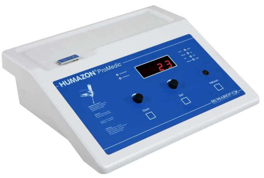 Ozone therapy unit HUMAZON® PROMEDIC Humares GmbH