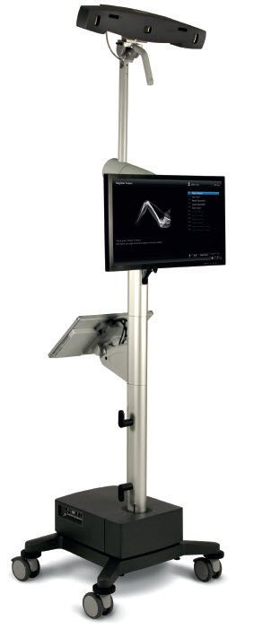 Medical monitor support arm HMA Lift 150 Haseke