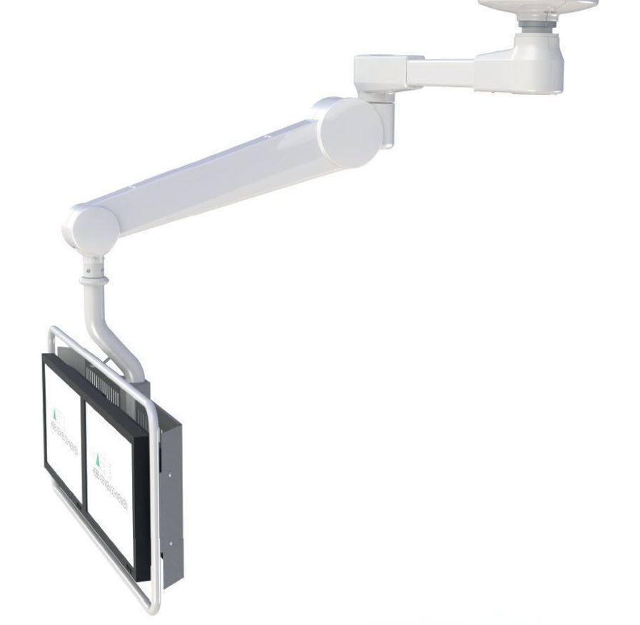 Surgical monitor support arm / ceiling-mounted HMA Lift 551 Haseke