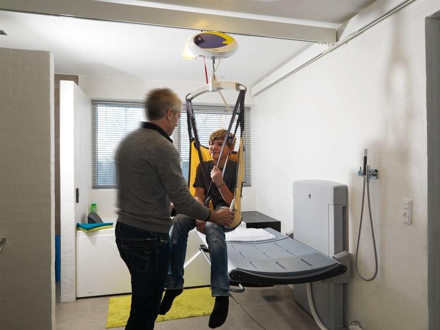 Ceiling-mounted patient lift GH1 Series Guldmann