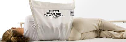 Patient lift sling / disposable Twin Turner II Guldmann