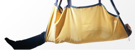 Repositioning sling patient lift Guldmann