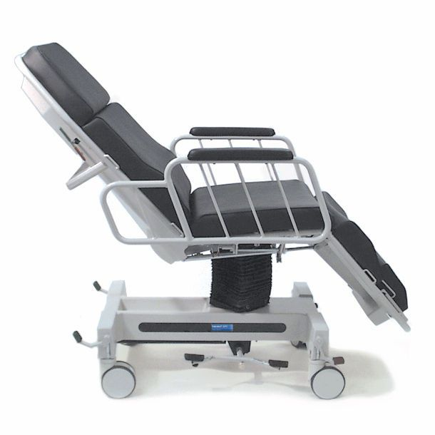 Hydro-pneumatic stretcher chair / height-adjustable / 3-section APC Hausted Patient Handling Systems