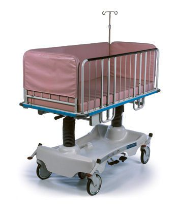 Transport stretcher trolley / pediatric / height-adjustable / mechanical Horizon® Pediatric Hausted Patient Handling Systems