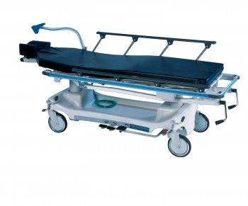 Transport stretcher trolley / height-adjustable / electro-hydraulic / 2-section Horizon® 578 Hausted Patient Handling Systems