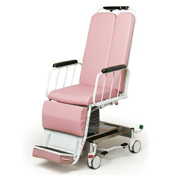 Hydro-pneumatic stretcher chair / height-adjustable / X-ray transparent / 3-section VIC Hausted Patient Handling Systems