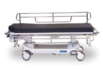Transport stretcher trolley / bariatric / height-adjustable / electrical 4E2 AirGlide® Hausted Patient Handling Systems