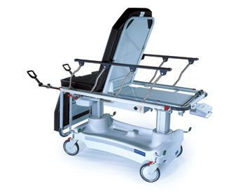 Electrical stretcher chair / height-adjustable / 3-section Converge Hausted Patient Handling Systems